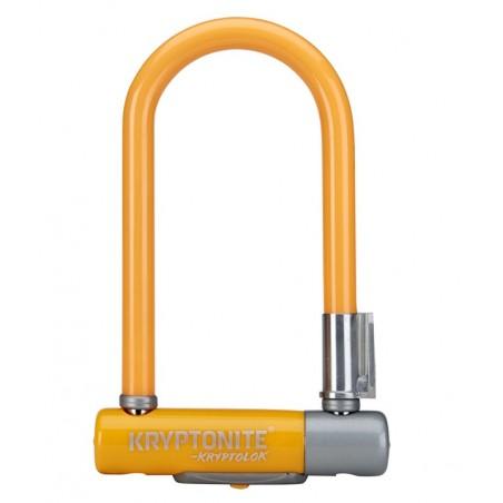 candado Kryptonite U lock Serie 2 Mini-7 Naranjo