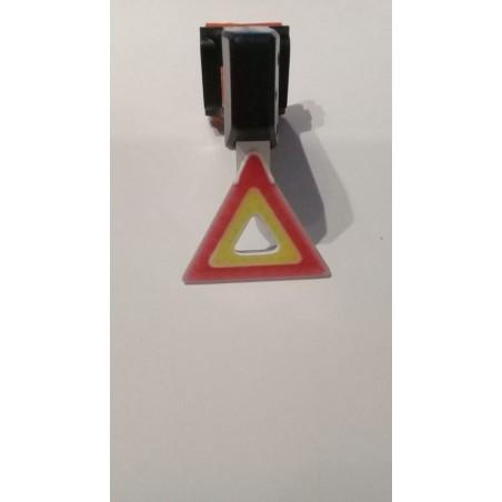 Luz LED trasera triangulo amarillo-rojo