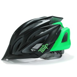 Casco Trip Mtb Black Green