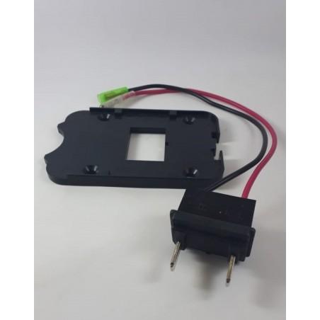 cable conexión bateria-controlador con base klapp / klapp+