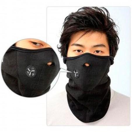Mascara para bicicleta / moto con cuello