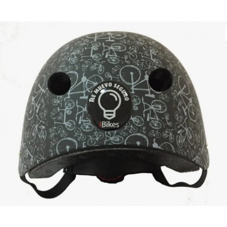 casco Mandalas Negro