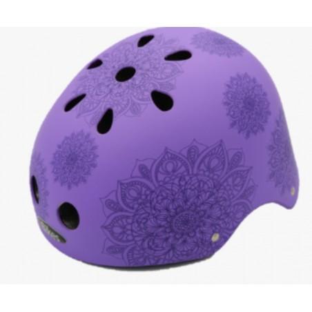 casco Mandalas Violeta