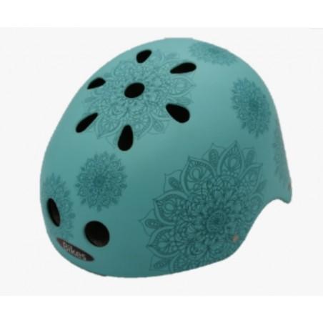 casco Mandalas Turquesa